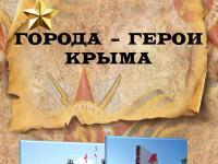 ДИСТАНЦИОННОЕ ОБУЧЕНИЕ Города-герои Крыма